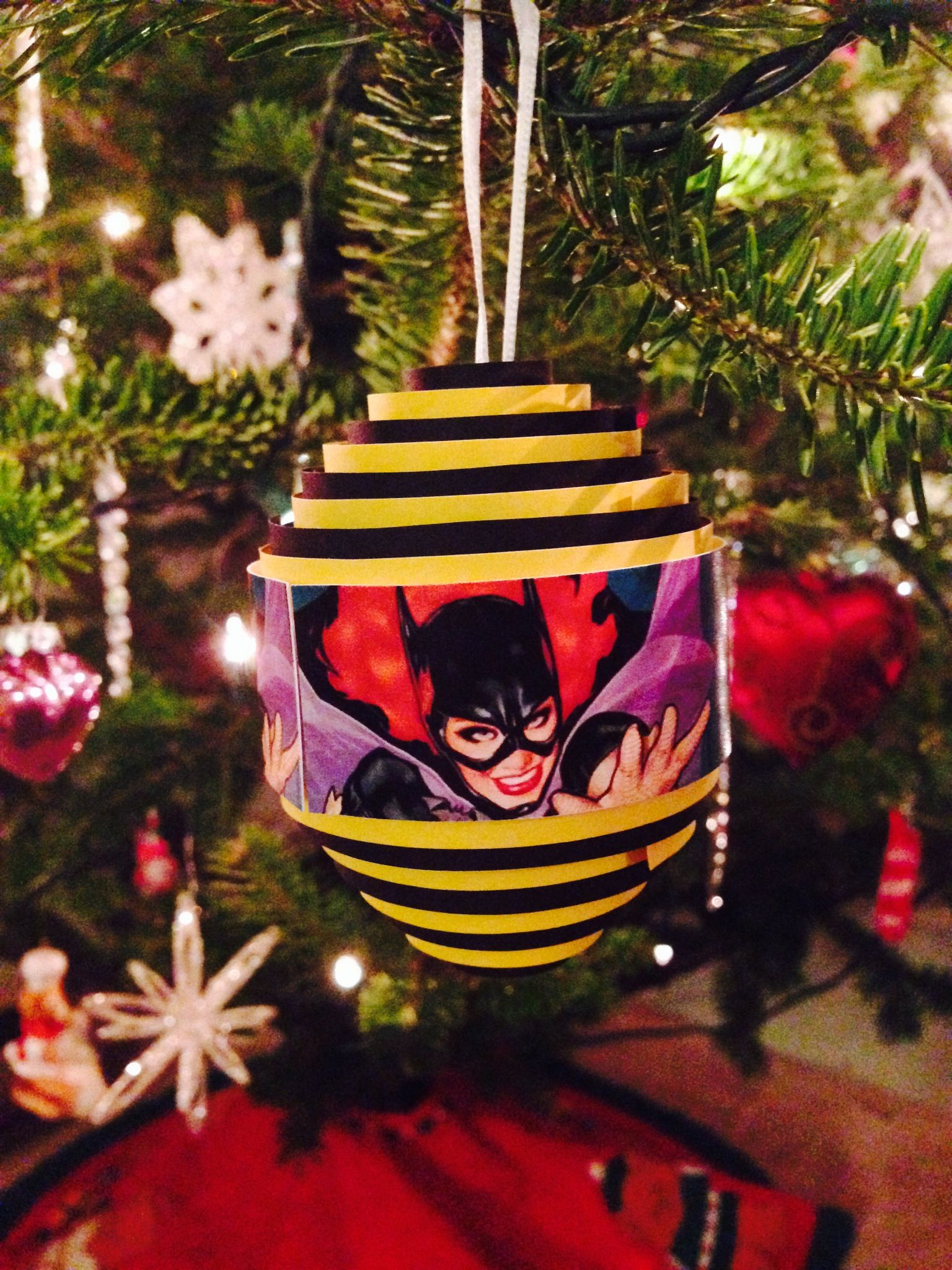 diy super hero ornaments - Google Search | Christmas tree ...