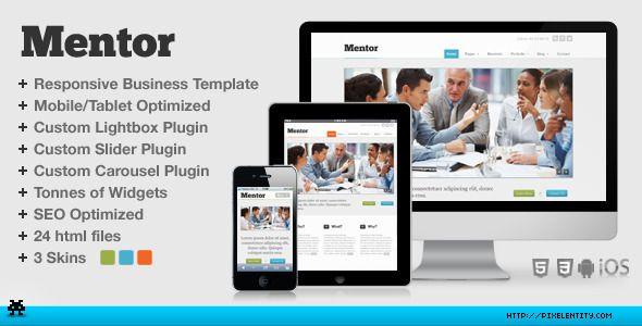 Mentor premium responsive business html5 template themeforest item mentor premium responsive business html5 template themeforest item for sale flashek Choice Image
