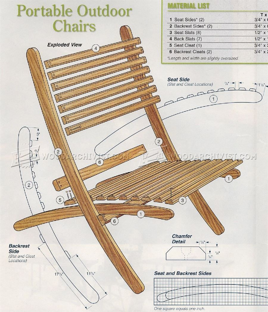 wooden beach chairs plans diy projects civil war. Black Bedroom Furniture Sets. Home Design Ideas