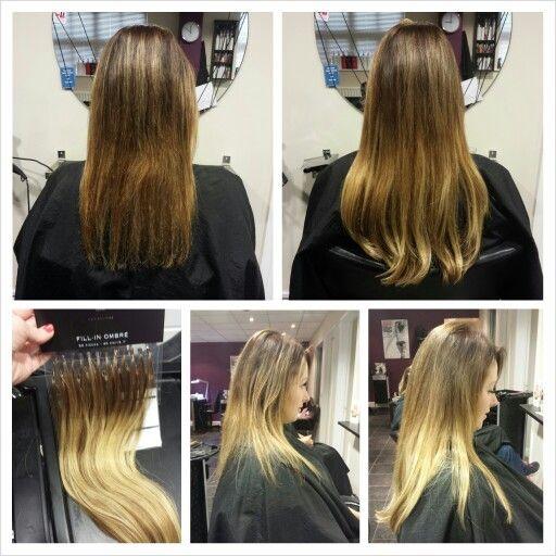 Balmain hair extensions clip in