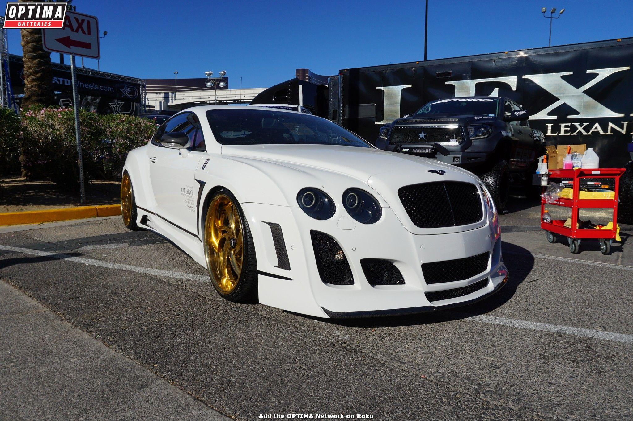 Bentley at the 2016 SEMAshow in Las Vegas