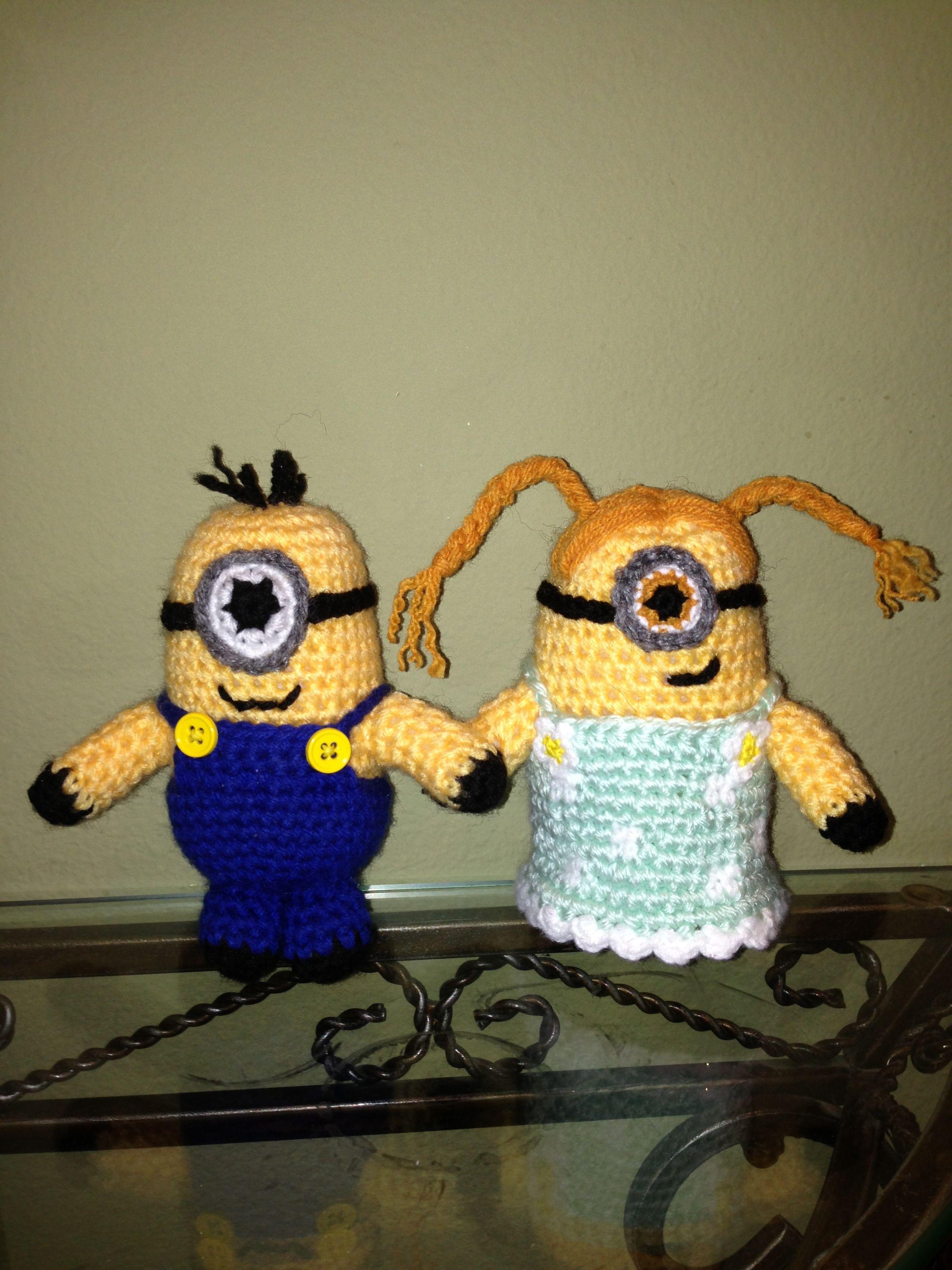 I crochet these #Minion :) by Ana Perez