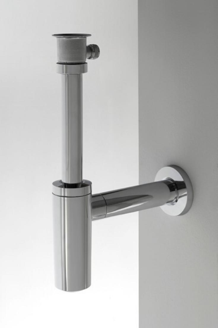 Eine Zeitlose Und Individuelle Badezimmer Gestaltung Ist Einfach Umzusetzen Mit Dem Design Siphon Dsr Von Marlin Der Silb Badgestaltung Badezimmerideen Design