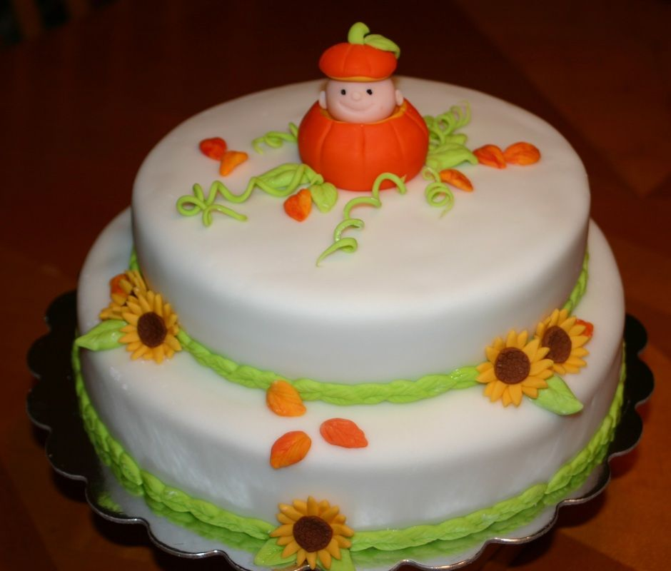 Fall Themed Baby Shower Cakes Part - 45: Pumpkin Baby Shower Cakes - Google Search