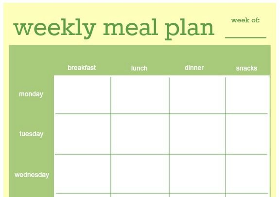 17 Best Images About Menu Planners - Including Lots Of Free