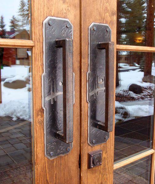 Wrought Iron Door Hardware Ponderosa Forge Ironworks Door Hardware Door Handles Wrought Iron Doors