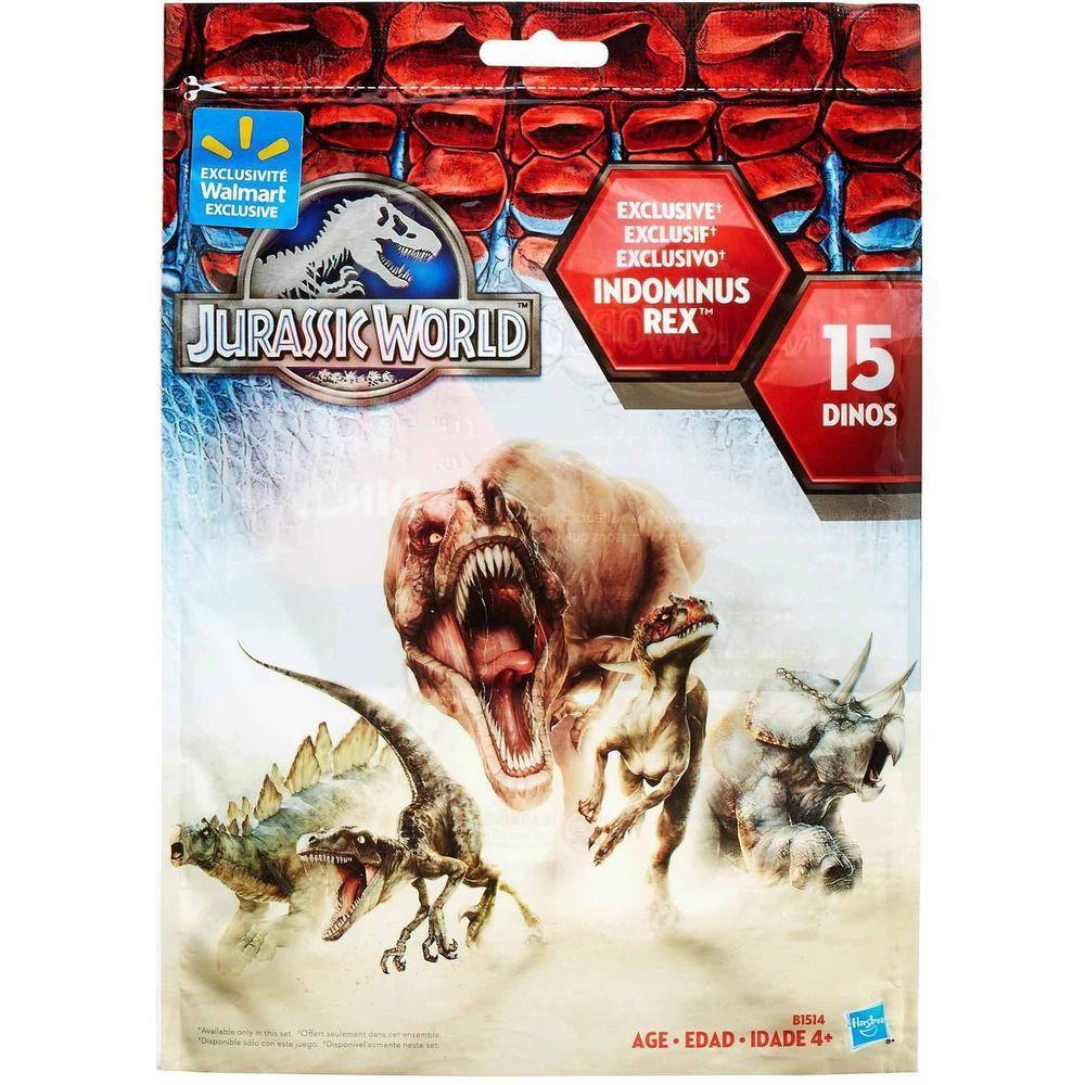 Jurassic Park World Bag of 15 Exclusive 3 Mini Figures