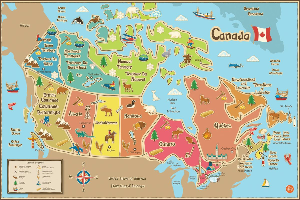 Brewster WPE1391 in 2019 | Products | Map, Maps for kids ...