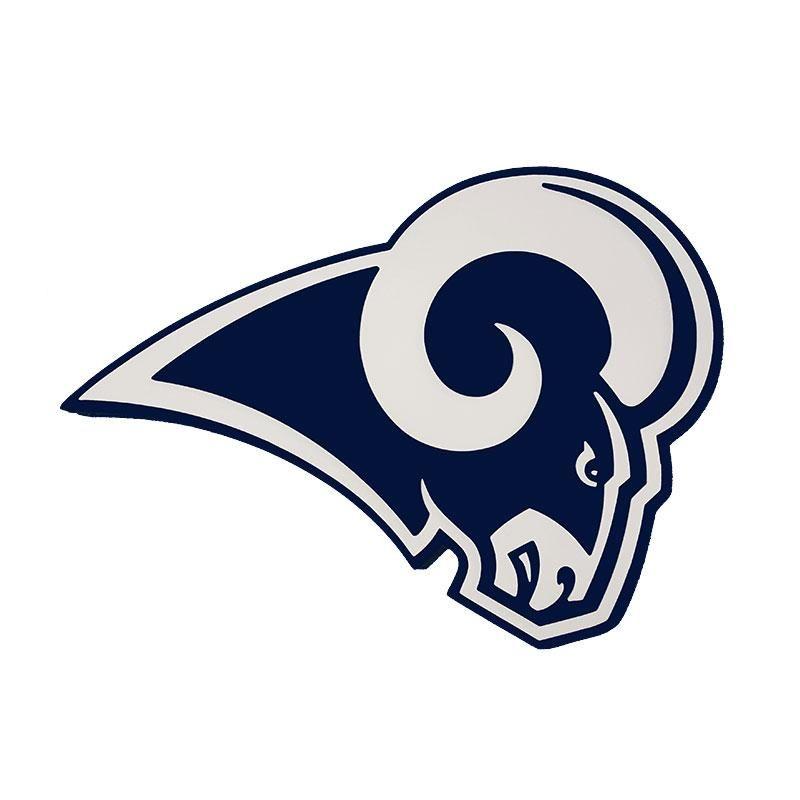 f25add93 Los Angeles Rams Sign 3D Foam Logo | Los Angeles Rams/St Louis Rams ...