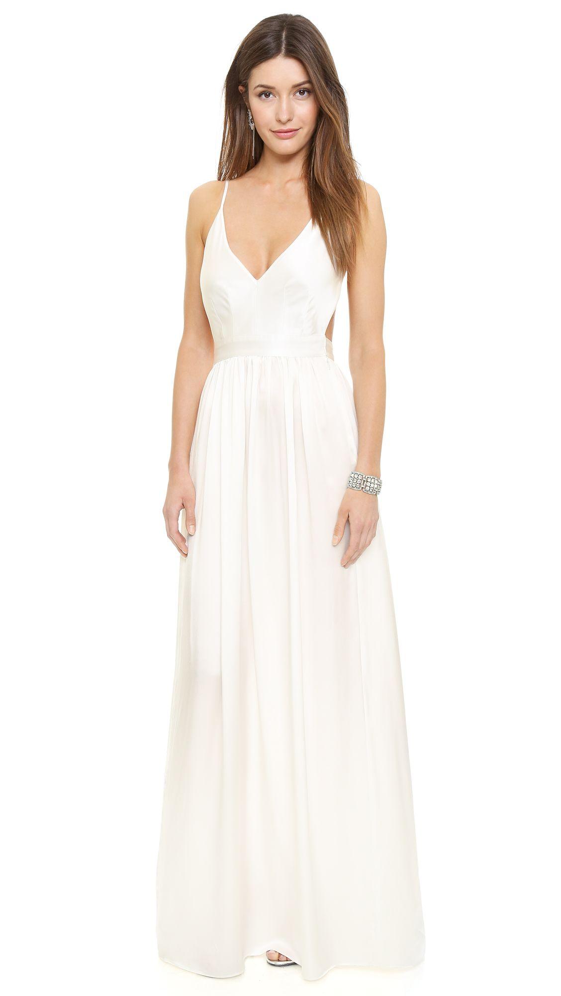 Babs Bibb Maxi Dress   Wedding dress