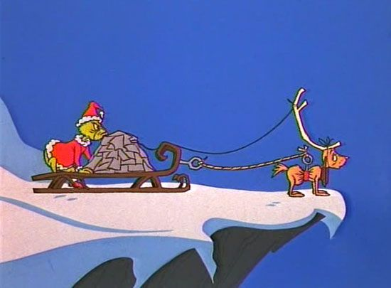 The grinch sleigh bing images who stole