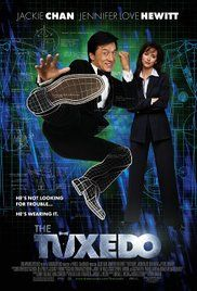 Watch Online English Movie The Tuxedo A Hapless Chauffer Must Take A Comatosed Secret Agents Place Using His Special Gadget Laden Tuxedo