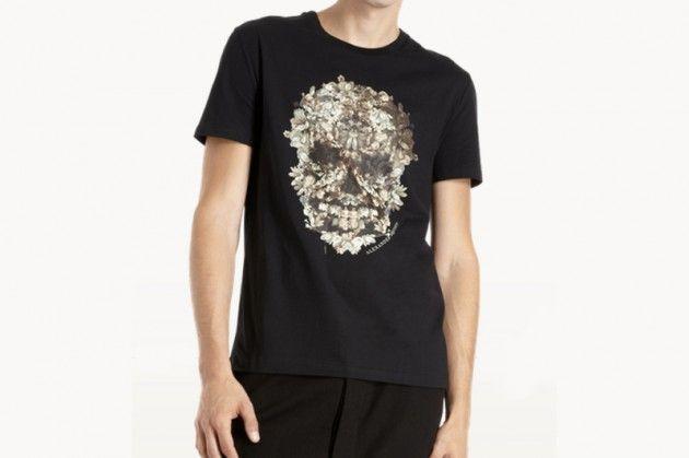 367d4b62a 8 Selected Print Tees: Alexander McQueen – Floral Skull Tee Floral Skull, Buyers  Guide