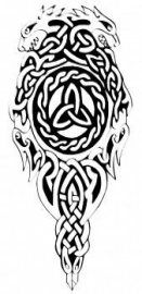 Tattoo dragon viking norse symbols 16+ ideas | Sleeve ...