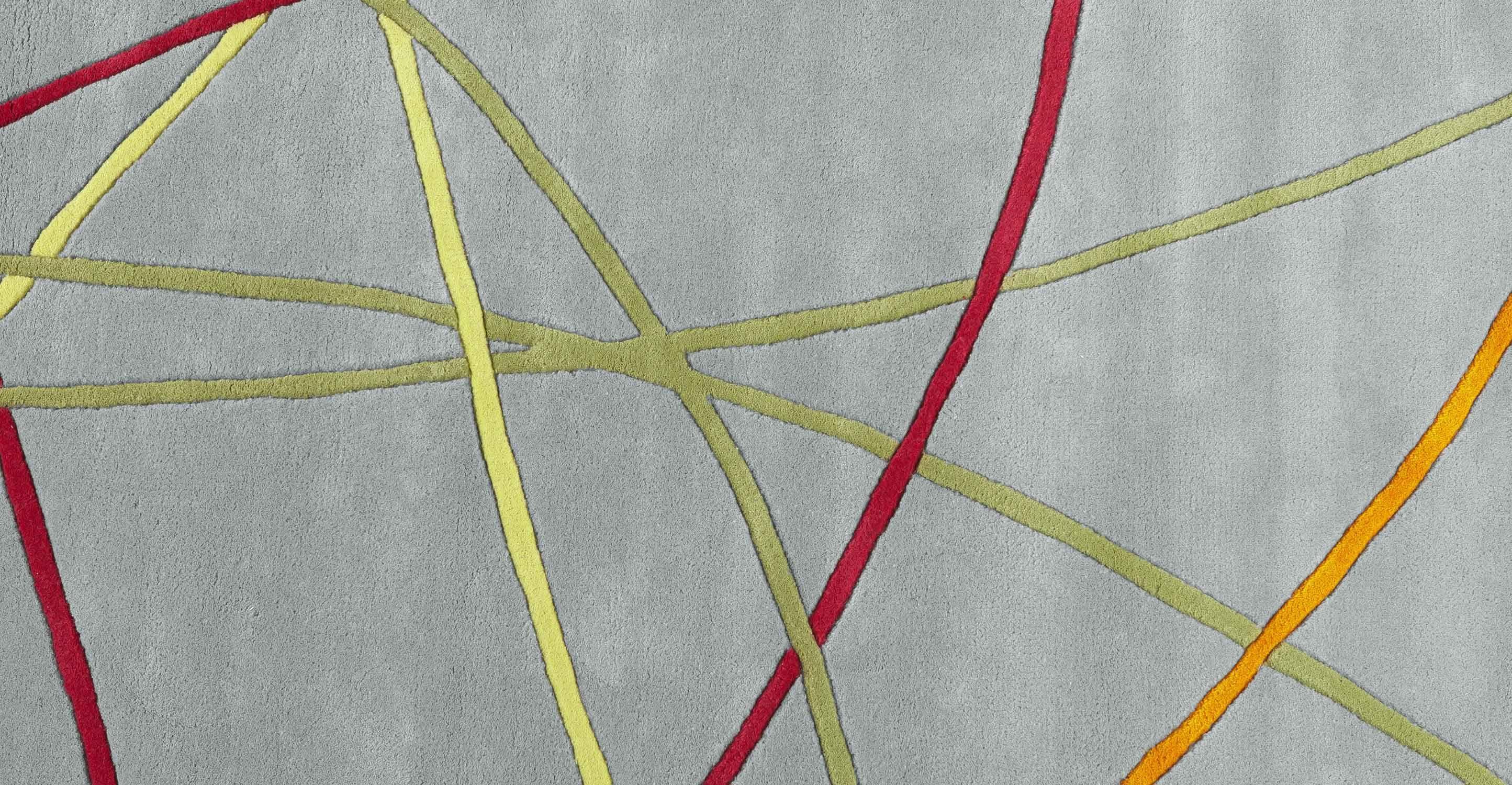 Ribbon Rug 170 x 240cm in cloud grey | made.com