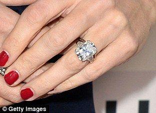 Jennifer Garneru0027s Massive 4.5 Carat Sparkler Poses Problems. Celebrity Wedding  RingsCelebrity ...