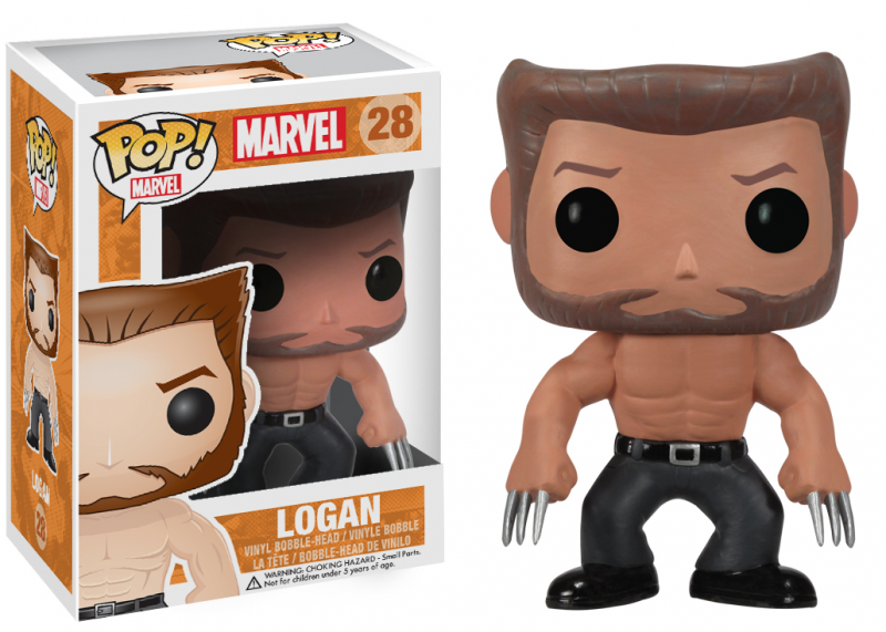 Vinyl X-Men Logan Pop