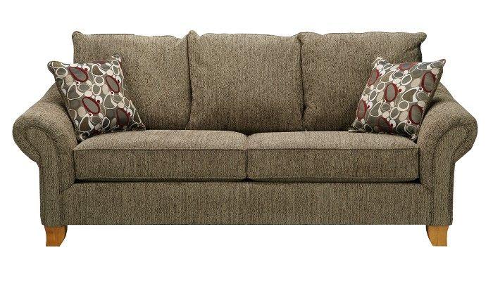 Slumberland furniture amherst collection tan sofa - Slumberland living room furniture ...