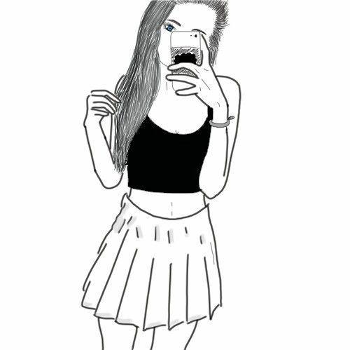 Resultado De Imagen De Dibujos Faciles De Chicas Tumblr Fondos