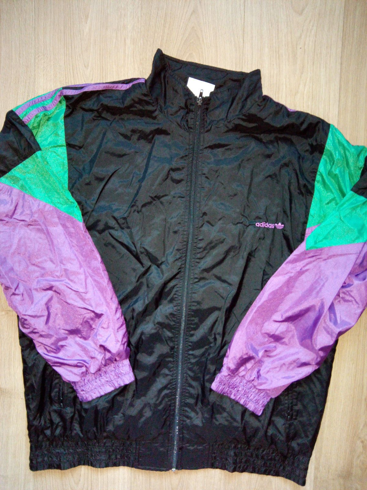 75b0bb3c3549e Adidas Originals 90's Vintage Mens Tracksuit Top Jacket Nylon in Clothing,  Shoes & Accessories, Men's Clothing, Athletic Apparel | eBay