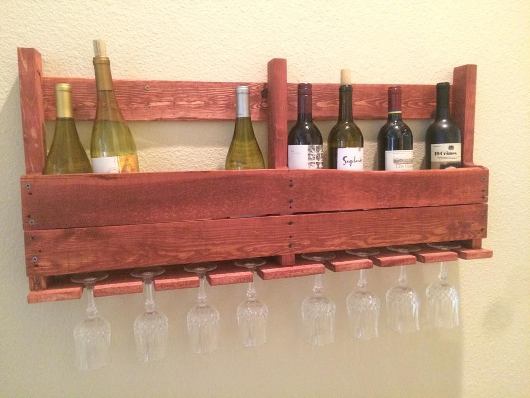 Diy Wood Pallet Wine Racks Wood Pallet Wine Rack Pallet Wine Rack Wine Rack
