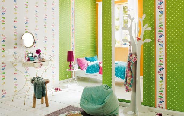 Kids Club kolleksiyonundan çocuk odası duvar kağıdı seçimleri.