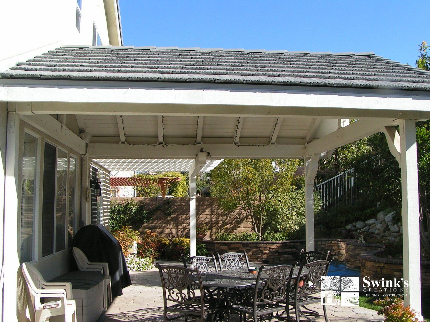 Patio Covers Pergola Patio Outdoor Covered Patio Backyard gazebo ideas attached to house
