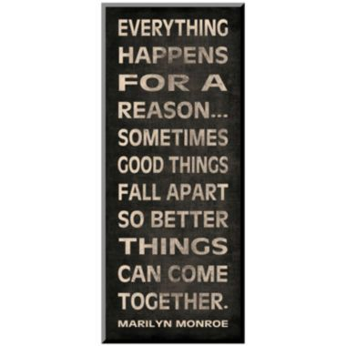 Art.com Everything Happens Print Wall Art  found at @JCPenney