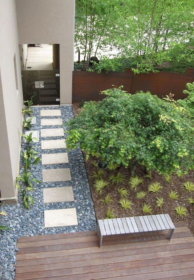 86 Amazing Inspiration Modern Walkways Pavers For Front Yard Ideas