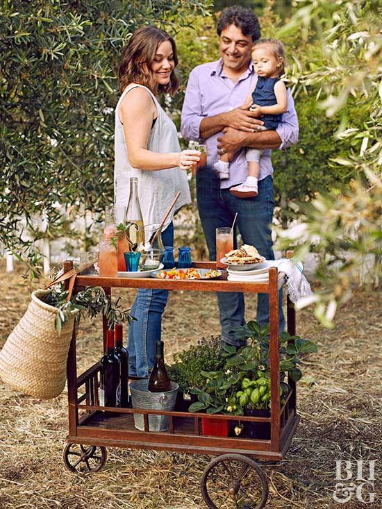 This Olive OilTasting Garden Party Is Stunning Garden