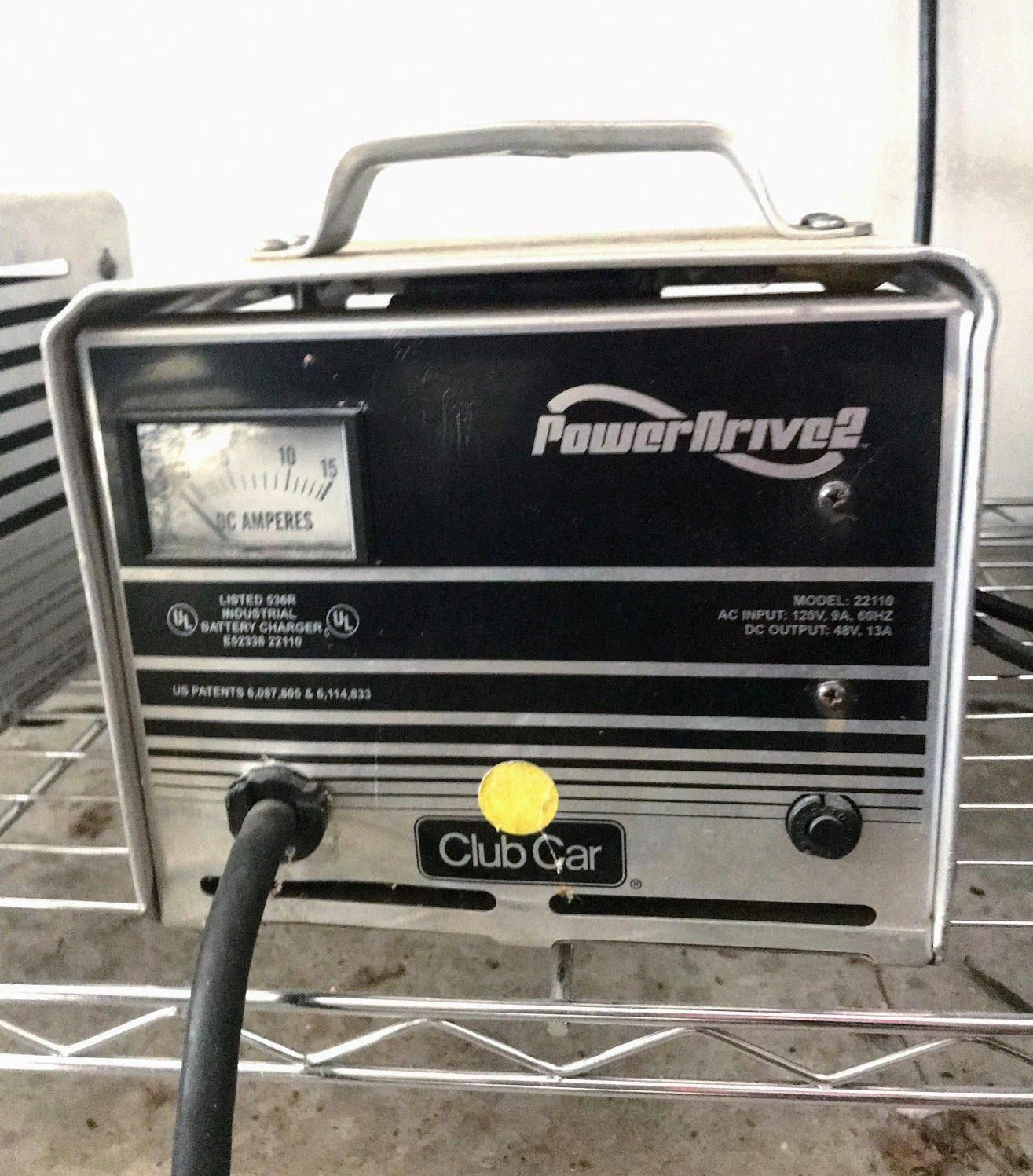 A Club Car battery charger usually comes with your