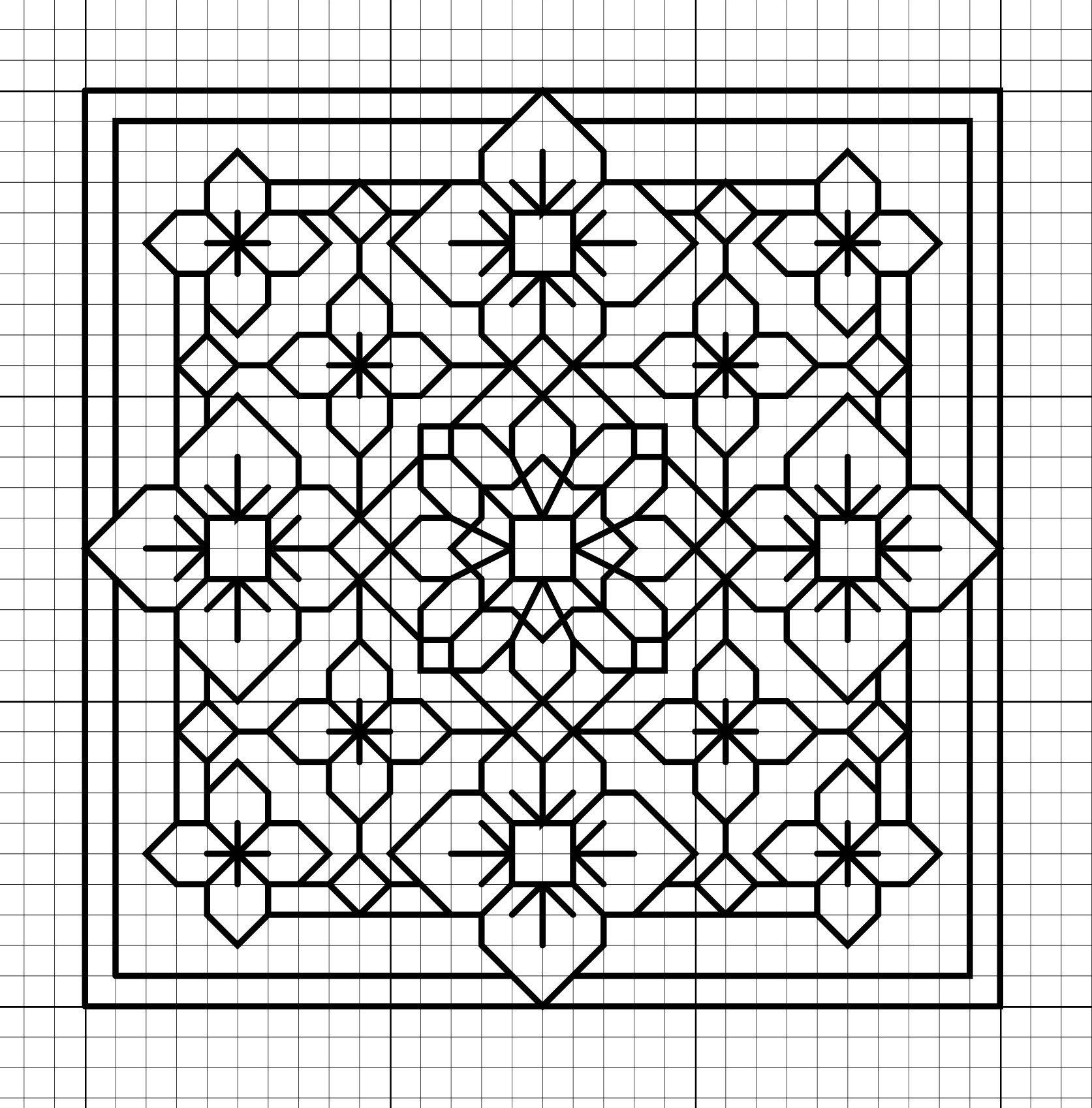 Blackwork Patterns Simple Design Ideas