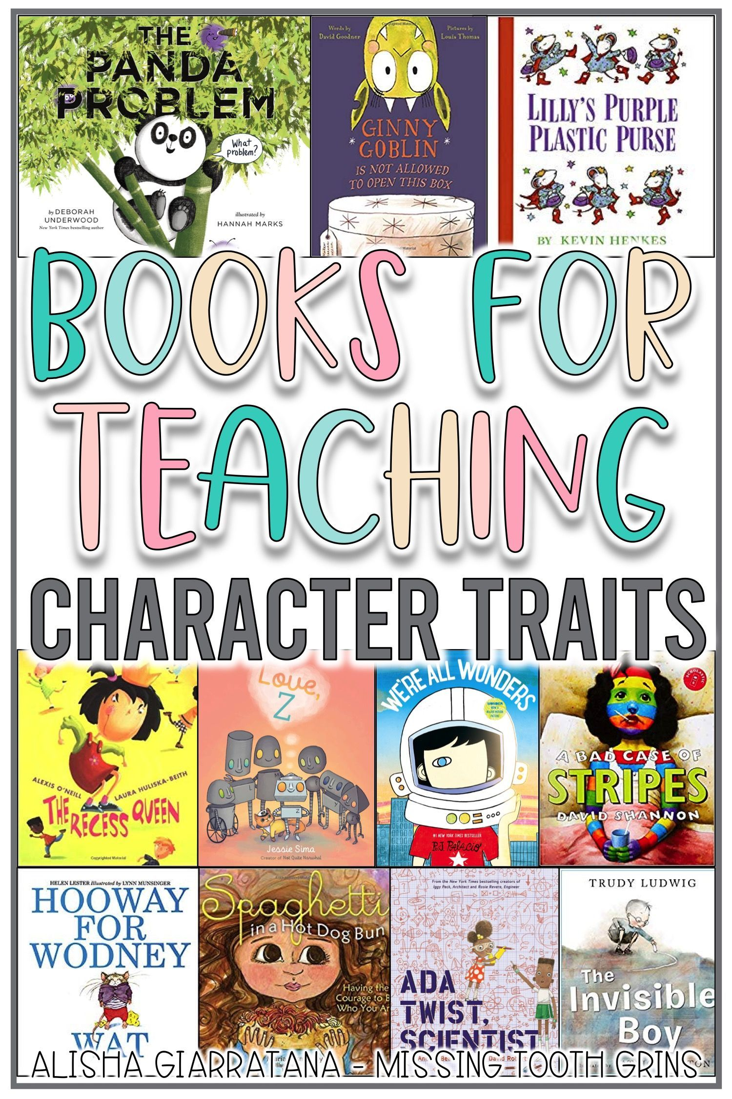 Books To Teach Character Amp Character Traits