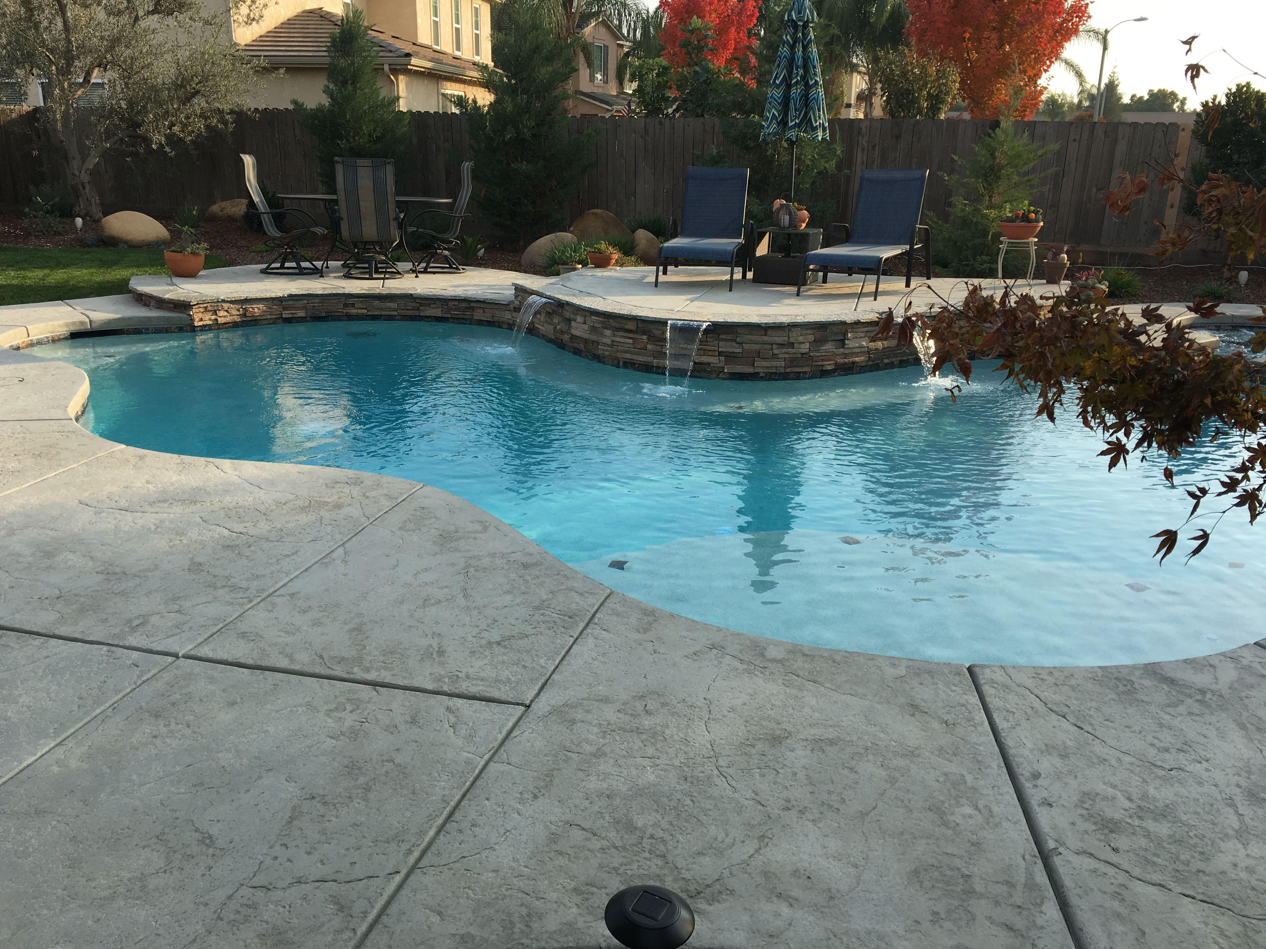Visalia Pool Design by Paradise Pools http://paradisepool.com ...