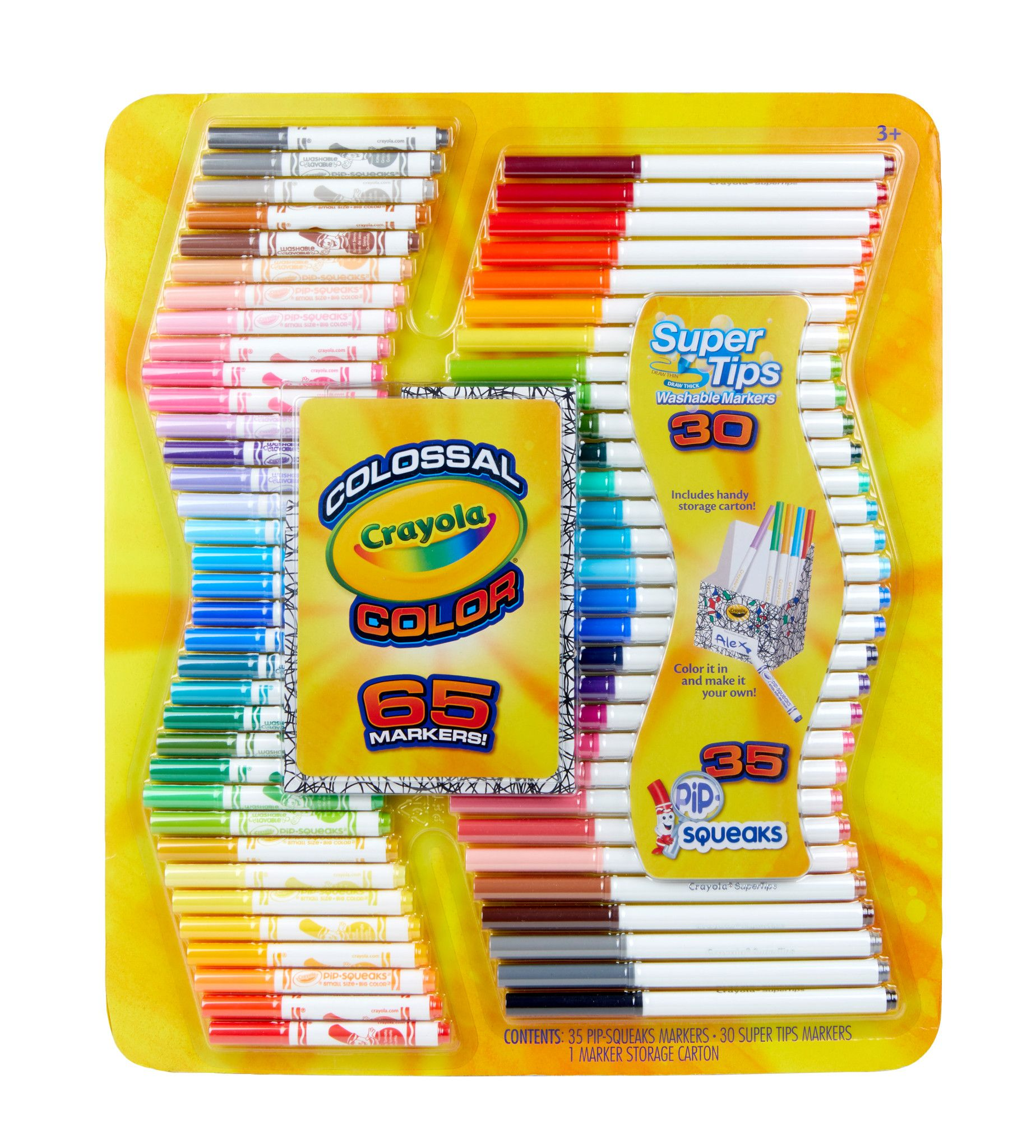 Shop by Brand Crayola, Color kit, Markers set