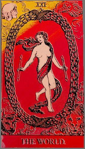 Tarot: The World tarot the #world