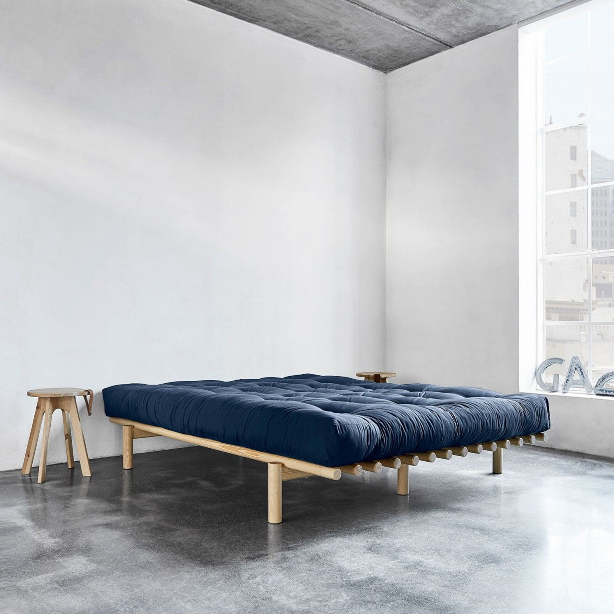 140x200 Pace Bett Natur Karup Karup Bed Furniture Bed Frame