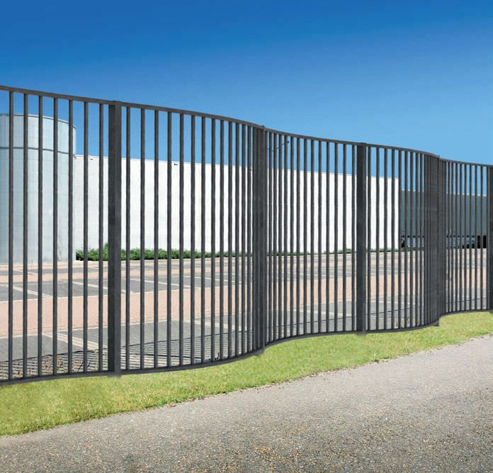 Wrought Iron Fence Design Homesketch Org Wrought Iron Fences