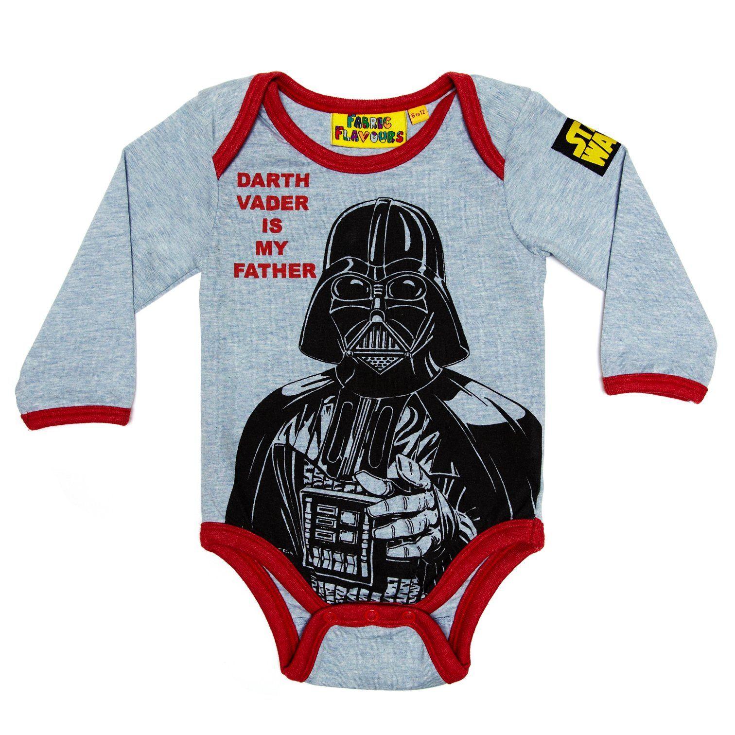 Darth vader babygrow 06 months star wars baby darth