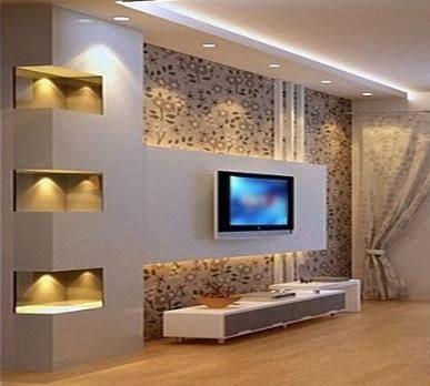 Resultado de imagen para modelos de drywall | living room ...