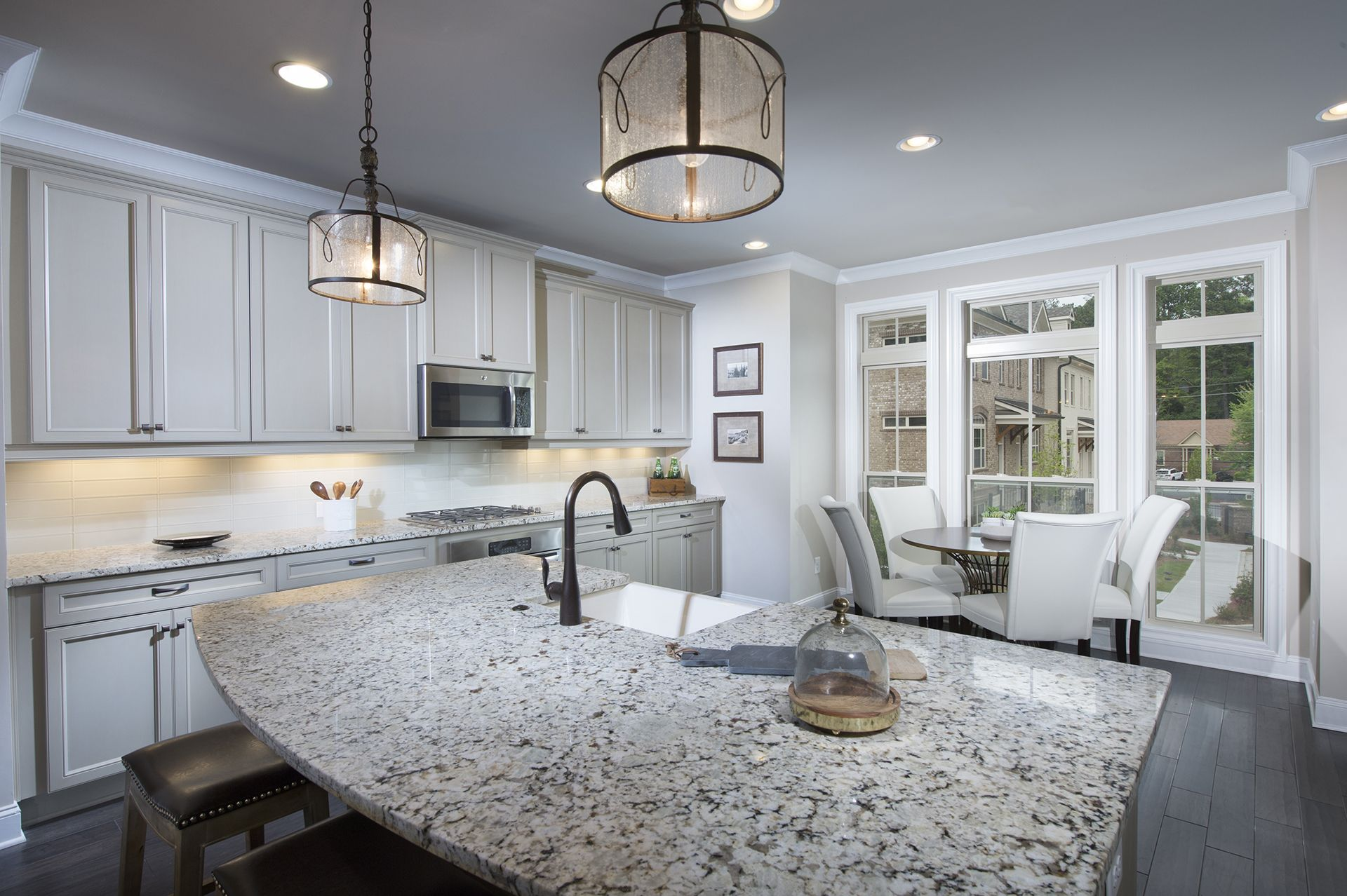 The Foster Home Design Provides Plenty Of Seating With A Eat Up Entrancing Designing The Perfect Kitchen Review