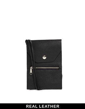 Miko Leather Cross Body Bag