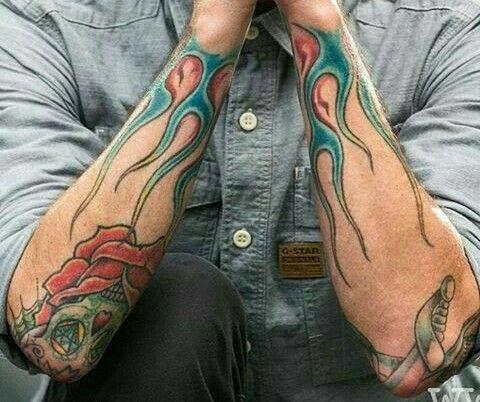 chester bennington tattoos tatts i heart pinterest