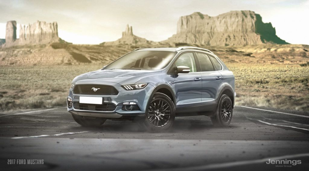 2017 Ford Mustang Suv Concept Ford Mustang Suv Suv Ford Mustang