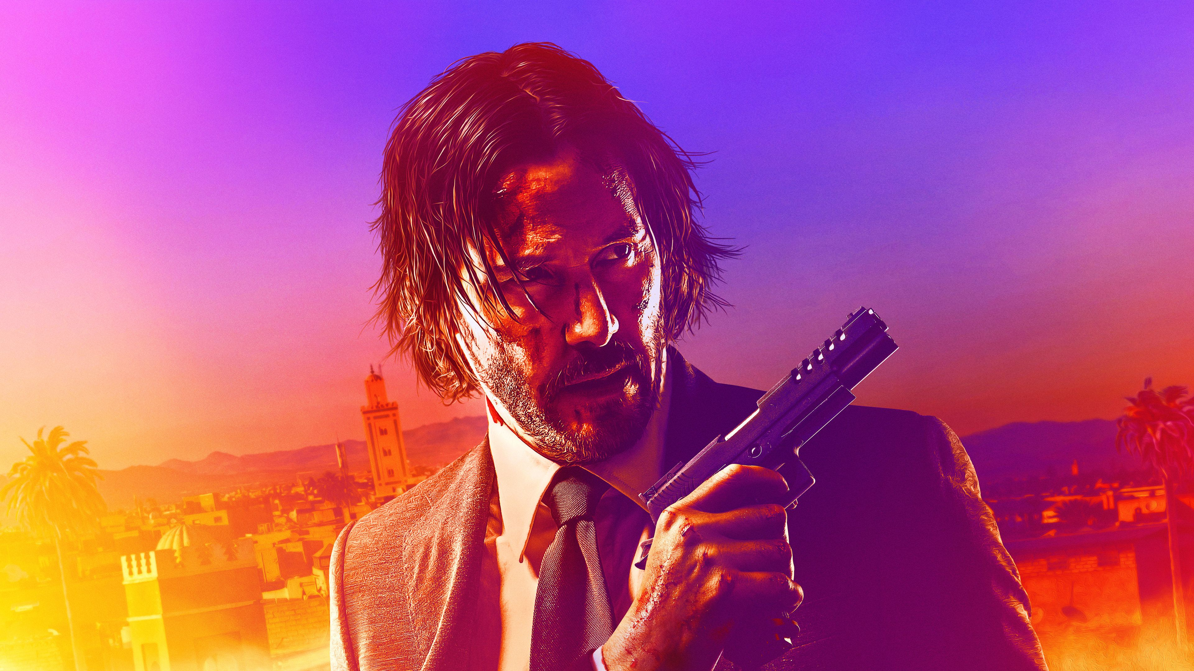 John Wick Chapter 3 Parabellum 2019 4k Movies Wallpapers Keanu Reeves Wallpapers John Wick Chapter 3 Wallpapers John Keanu Reeves Movie Wallpapers John Wick