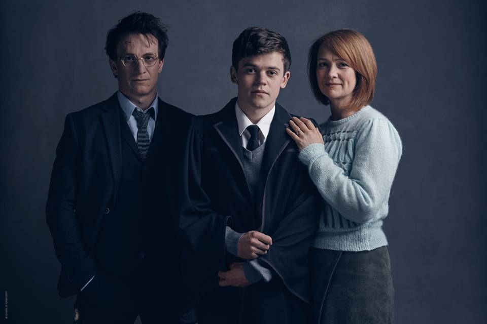 Harry Albus And Ginny Potter From The New Play Harry Potter And The Cursed Child Harry Potter Play Harry Potter Cursed Child First Harry Potter
