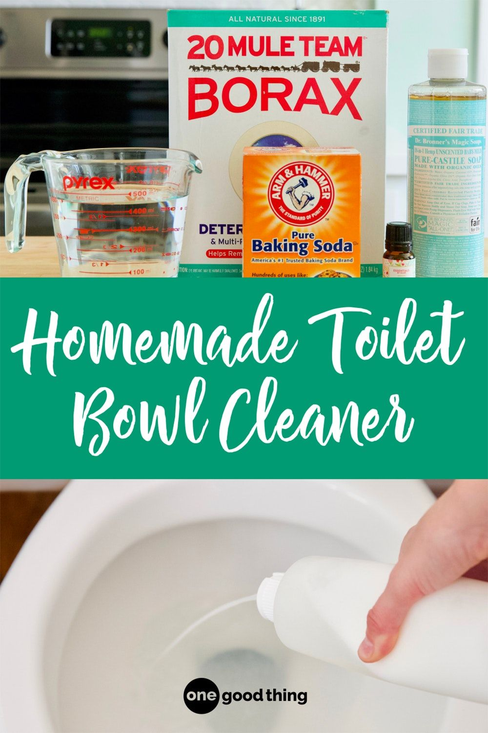 How To Make A Homemade Toilet Bowl Cleaner In 2020 With Images Homemade Toilet Bowl Cleaner