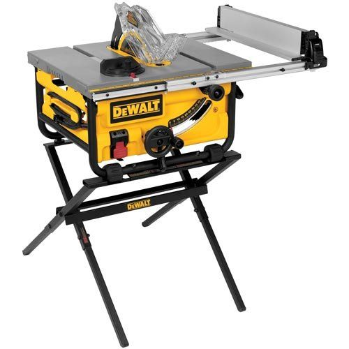 Dewalt Dwe7480xa 10 In Portable Table Saw With Table Saw Stand Best Price Daily Update Price Comparison Review Best Table Saw Best Portable Table Saw Table Saw Station