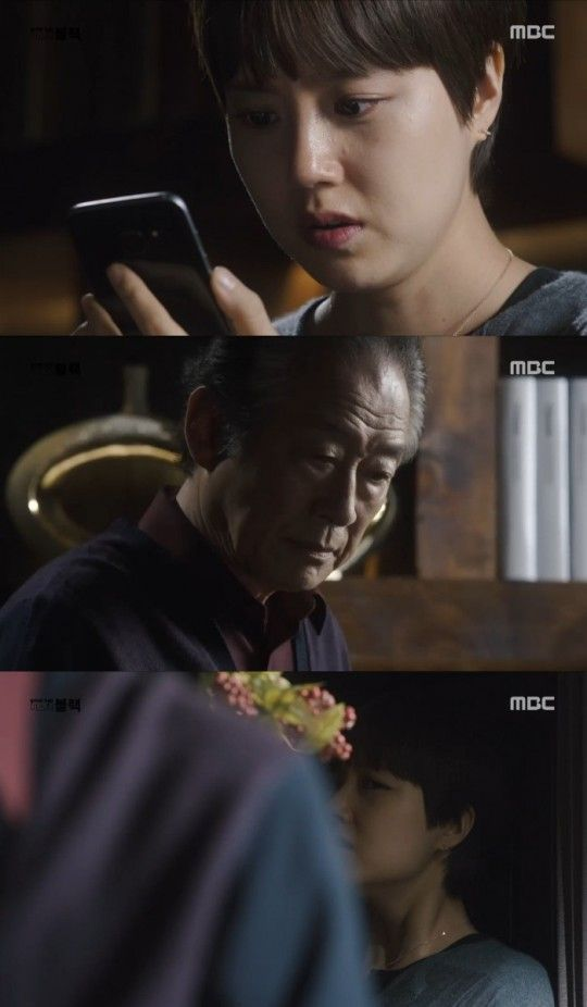 [Spoiler] 'Goodbye Mr. Black' Moon Chae-won apologizes to Lee Jin-wook