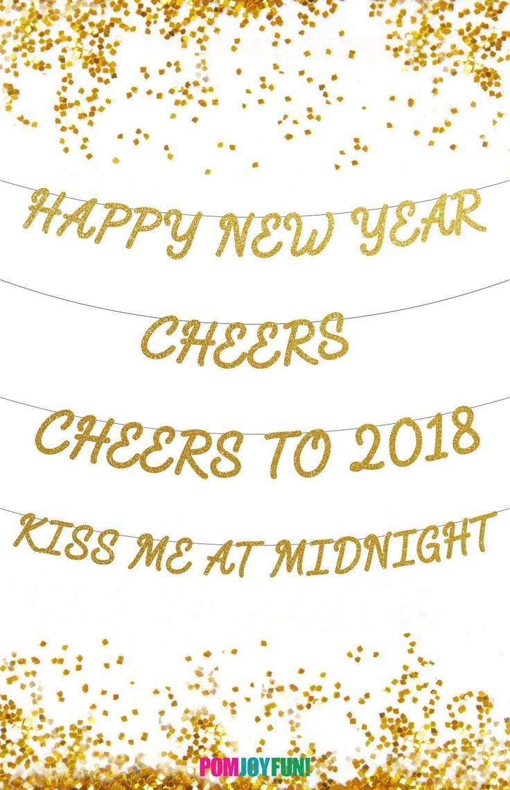 New Years Eve Banners, Happy New Year Banner, Cheers Banner, Cheers ...